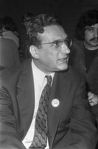 Ernest Mandel at the congres 'Capitalism in the seventies', Tilburg, september 1970