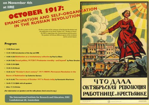 Poster 1917 event