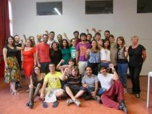 Youth School participants and lecturers