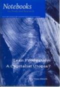No.23 Lean Production: A Capitalist Utopia?
